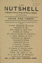 Advert For 'The Nutshell', Periodical